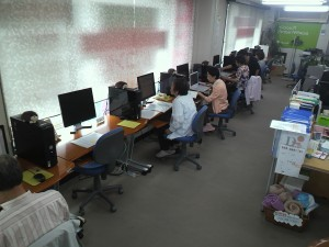 パソコン教室さいぷす熊谷校 授業風景